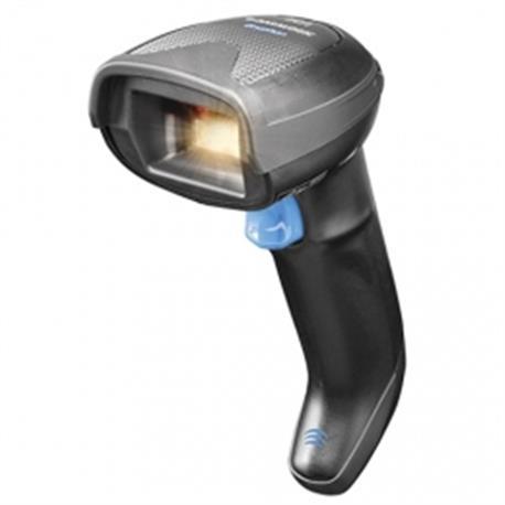 Joya Touch Basic, 2D, WLAN, NFC, Gun, rood, grijs, WEC 7