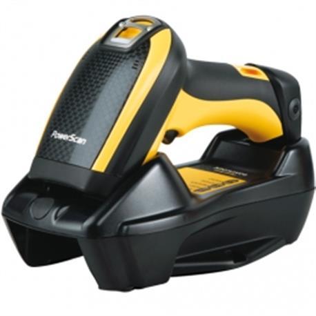 Datalogic PowerScan PM9300, 1D, AR, disp., RB, zwart, geel