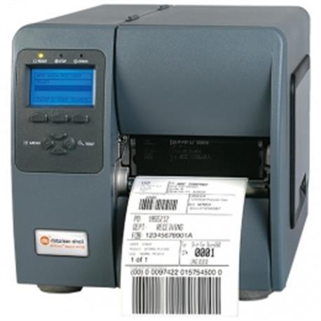 Honeywell M-4206, 8 dots/mm (203 dpi), rewind, display, PL-Z, PL-I, PL-B, USB, RS-232, LPT, Ethernet