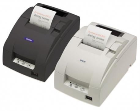 Epson TM-T88V, USB, powered-USB, licht grijs