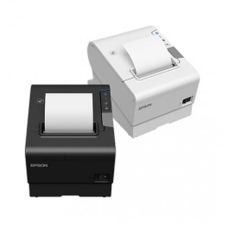 Epson TM-T20II, USB, Ethernet, 8 dots/mm (203 dpi), cutter, zwart