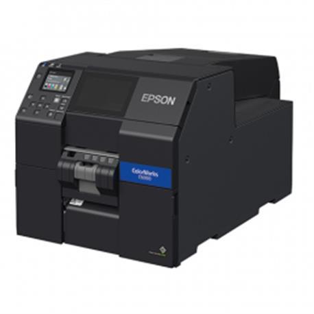 Epson ColorWorks CW-C6500Ae, cutter, disp., USB, Ethernet, zwart