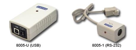 Glancetron 2009, 1D, kabel (KBW), licht grijs