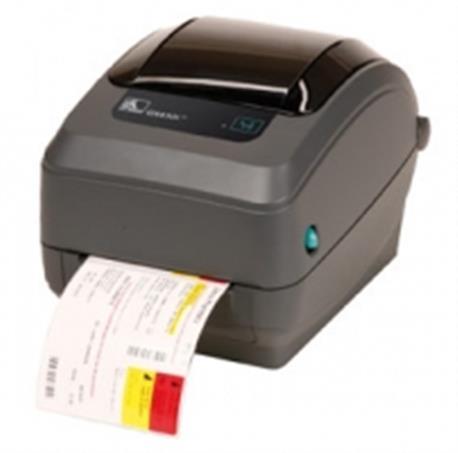 Zebra GK420t rev2, 8 dots/mm (203 dpi), peeler, EPL, ZPL, USB, printserver (ethernet)