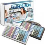 Glancetron Keyboard 8031, num., MSL, RS-232, PS/2, kabel, zwart