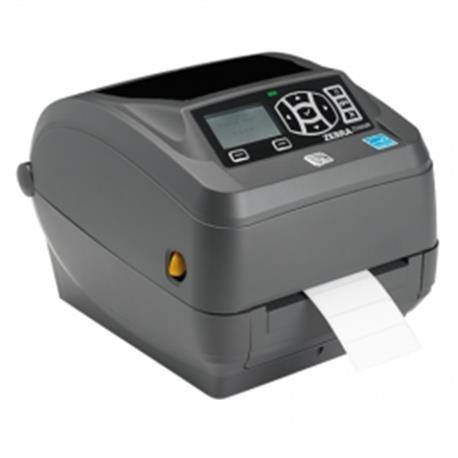 Zebra ZD500R, 8 dots/mm (203 dpi), cutter, RTC, RFID, ZPLII, multi-IF (Ethernet)