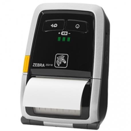 Zebra ZQ520, 8 dots/mm (203 dpi), linerless, display, ZPL, CPCL, USB, BT, WLAN
