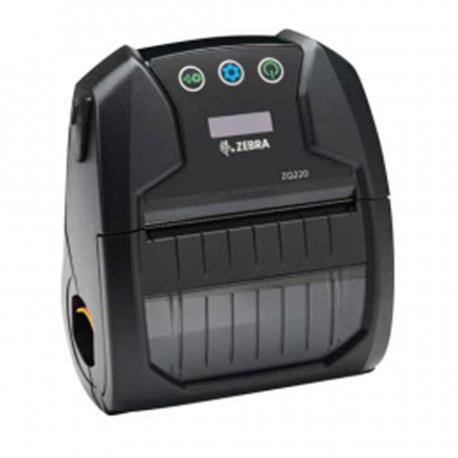 Zebra ZQ220, 8 dots/mm (203 dpi), CPCL, USB, BT, zwart