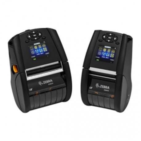 Zebra ZT410, 8 dots/mm (203 dpi), RTC, display, EPL, ZPL, ZPLII, USB, RS232, BT, Ethernet, WLAN