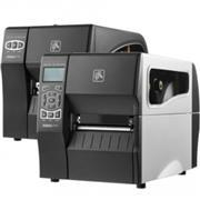 Zebra ZT610, 24 dots/mm (600 dpi), peeler, rewind, disp., ZPL, ZPLII, USB, RS232, BT, Ethernet