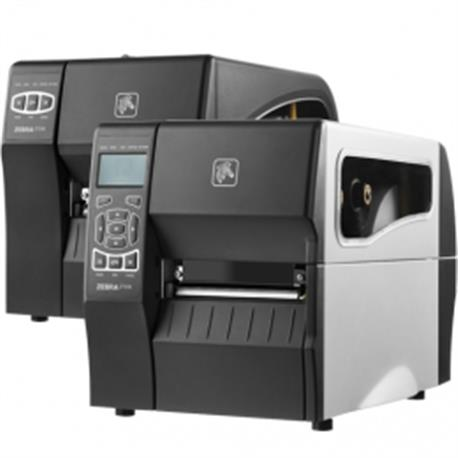 Zebra ZT610, 8 dots/mm (203 dpi), peeler, rewind, disp., ZPL, ZPLII, USB, RS232, BT, Ethernet