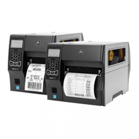 Zebra ZT411, 8 dots/mm (203 dpi), peeler, rewind, disp. (kleur), RTC, EPL, ZPL, ZPLII, USB, RS-232, BT, Ethernet