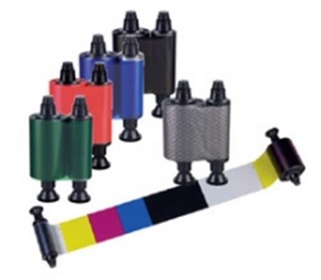 Evolis colour ribbon (monochrome), black