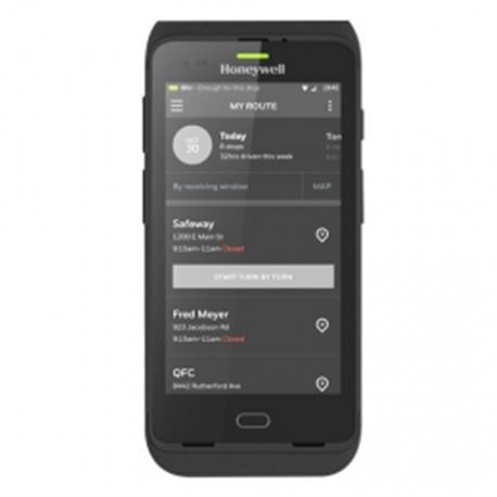 Honeywell Captuvo SL42 for iPhone 6s Plus, 2D, kabel (USB), ext. Bat., zwart