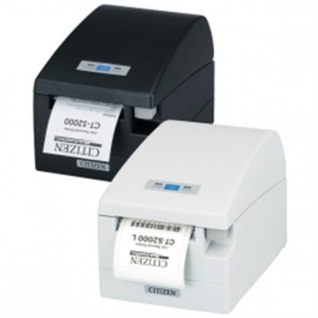 Citizen CT-S651II, BT, 8 dots/mm (203 dpi), cutter, zwart