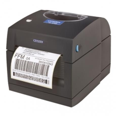 Citizen CT-S651, USB, 8 dots/mm (203 dpi), cutter, zwart