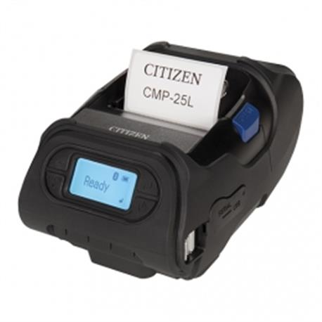 Citizen CL-S6621, 8 dots/mm (203 dpi), peeler, ZPLII, Datamax, multi-IF (Ethernet, Premium), zwart