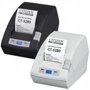 Citizen CT-S281, RS-232, 8 dots/mm (203 dpi), cutter, zwart