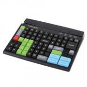 PrehKeyTec MCI 84, num., MSL, vergrendeling, USB, wit