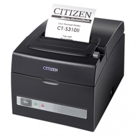 Citizen CT-S801II, 8 dots/mm (203 dpi), cutter, display, zwart