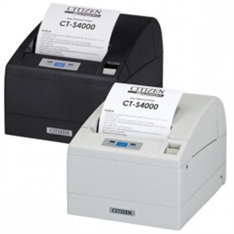 Citizen CT-S801, RS232, 8 dots/mm (203 dpi), cutter, display, zwart