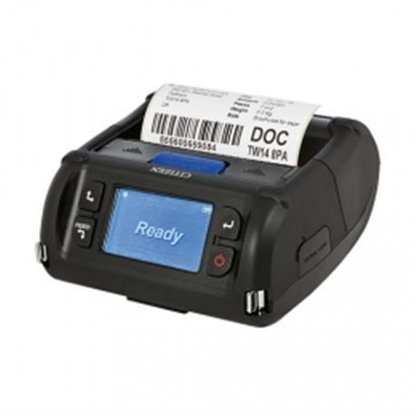 Citizen CMP-40L, USB, RS-232, WLAN, 8 dots/mm (203 dpi), disp., ZPL, CPCL