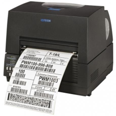 Citizen CL-S6621XL, 8 dots/mm (203 dpi), ZPLII, Datamax, Dual-IF, zwart