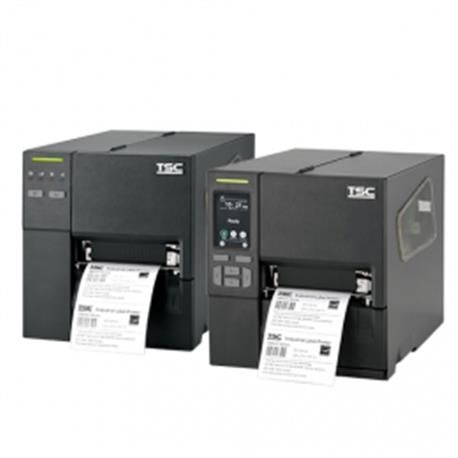 TSC MB240T, 8 dots/mm (203 dpi), disp., RTC, EPL, ZPL, ZPLII, DPL, USB, RS-232, Ethernet, Wi-Fi