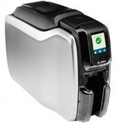 Zebra ZC300, eenzijdig, 12 dots/mm (300 dpi), USB, Ethernet, MSR, display, contact, contacloos