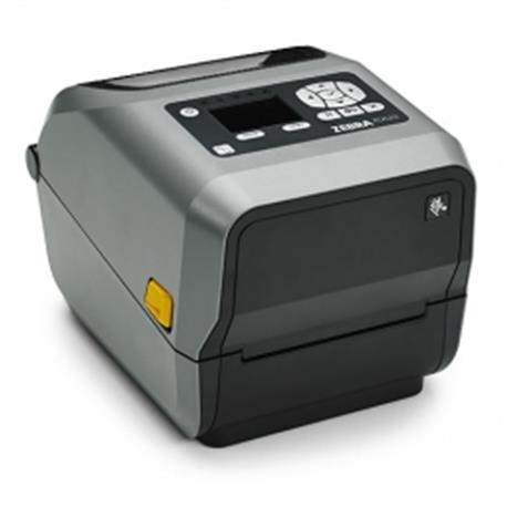Zebra ZD620d, 8 dots/mm (203 dpi), cutter, linerless, LTS, RTC, display, EPLII, ZPLII, USB, RS232, BT, Ethernet, WLAN, g